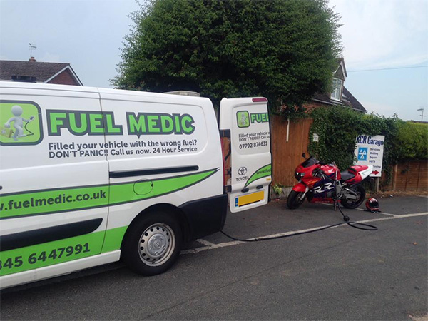Wrong Fuel in Motorcycle